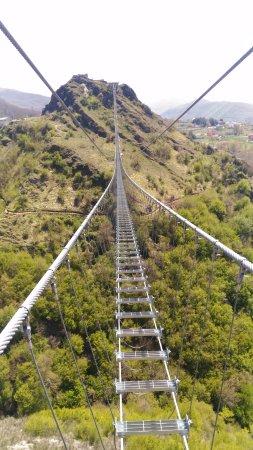 Sasso di Castalda, Italy: il ponte