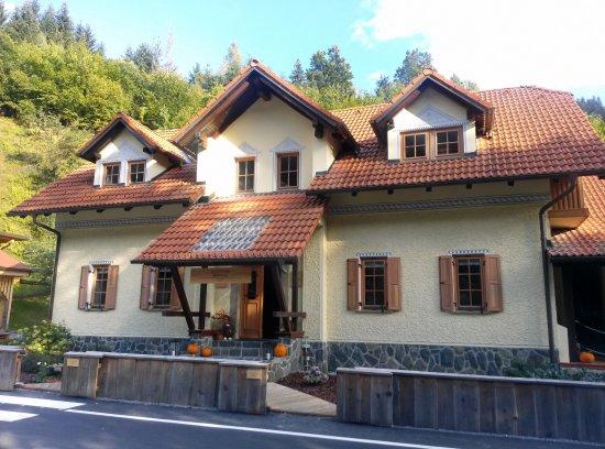 Pool - Picture of Charming Slovenia: Herbal Glamping Resort, Ljubno - Tripadvisor