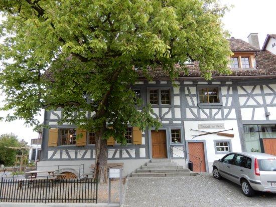 Rudlingen, Suiza: Riegelbau