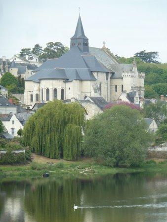 Candes-Saint-Martin, France: vue de l'autre berge