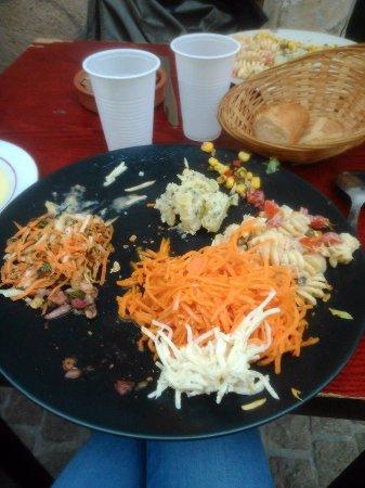 L'Oignon givre : salade 2eme tournée