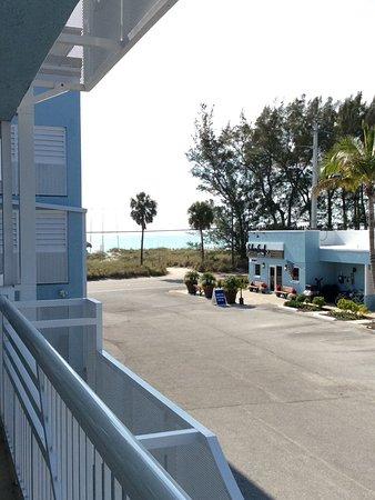 Silver Surf Gulf Beach Resort Vy Från Vår Dörr