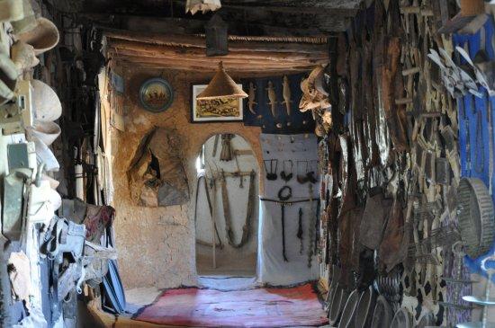 Intérieur du Musée Kasbah de l\'Oasis de Tighmert - Bild von ...