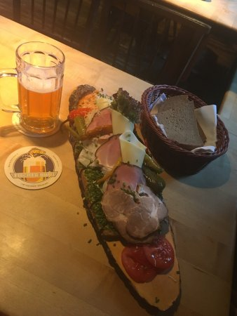 Fischer Brau: Large portions!