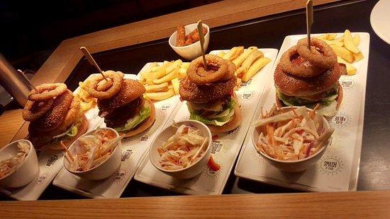 Our popular burger range