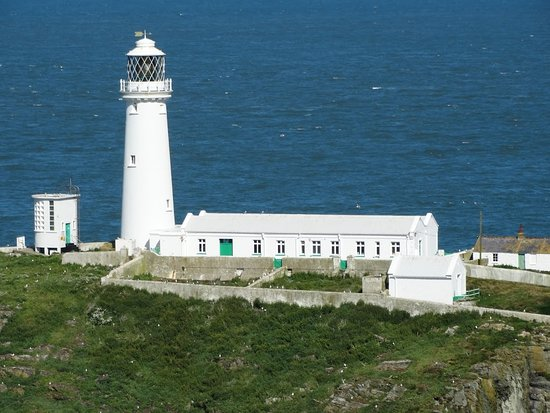 South Stack Cliffs RSPB Reserve: South Stack Lighthouse