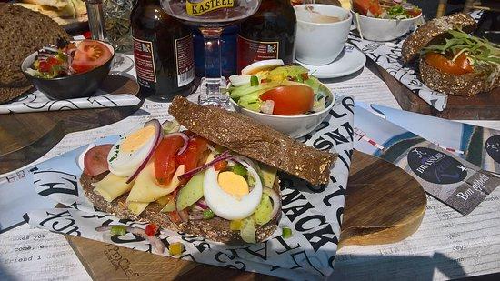 """Scherpenisse, The Netherlands: Sandwiche """"gezond"""""""