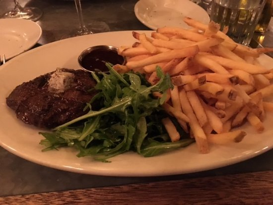 Graton, CA: Underwood steak and frites