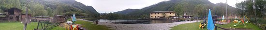 Primaluna, إيطاليا: Societa Agricola Trota Valsassina, panoramica
