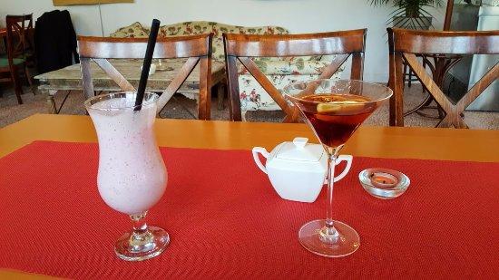 Ladek-Zdroj, بولندا: Wino,koktajl,kawa.................:)