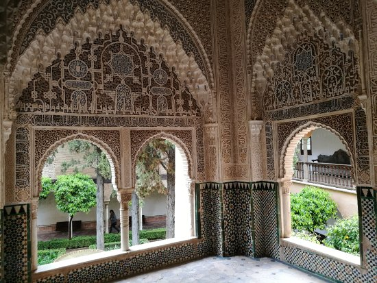 At the museum - Picture of Museum of Alhambra, Granada ...