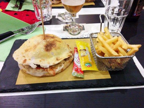Hamburger foto di 0575 pizza e cucina sansepolcro for B cucina e pizza