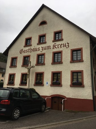 Gasthaus zum Kreuz: Front of Restaurant May 2017