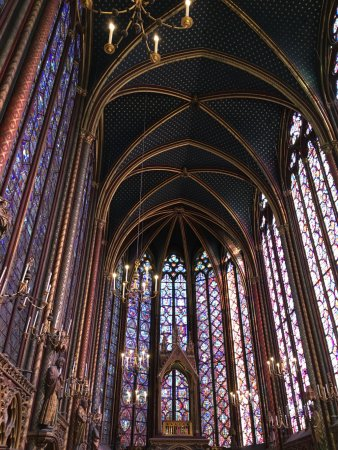 Photo of Church Sainte-Chapelle at 8 Boulevard Du Palais, Paris 75001, France