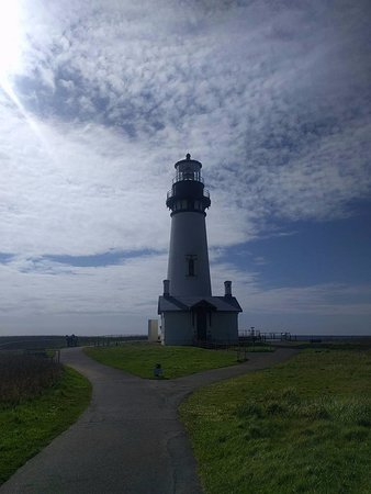 Yaquina Bay Lighthouse: Faro antiguo.