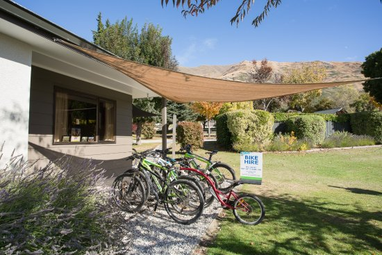 Wanaka Kiwi Holiday Park & Motels: Bike hire-3 hour or full day hire available