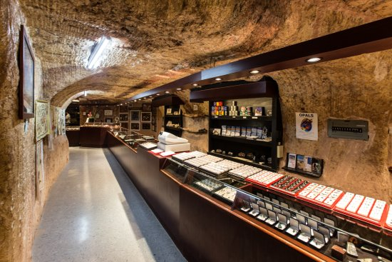 Coober Pedy, Australia: Our Opal Showroom