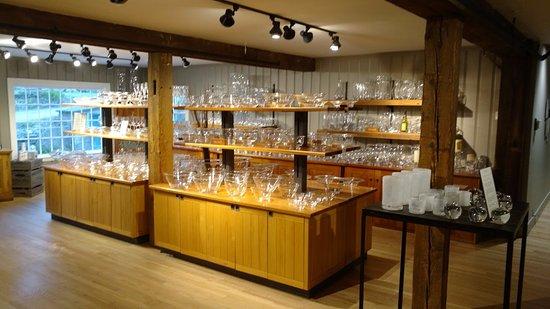 Quechee, VT: glass