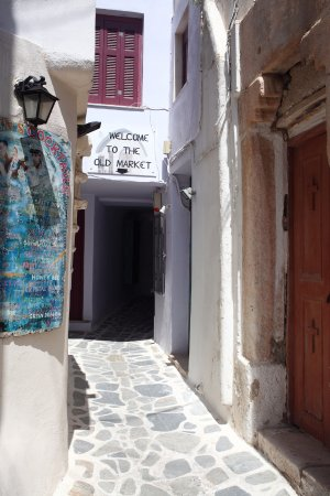 Old Town: Narrow street at Old market