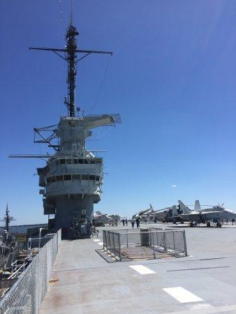 Uss Yorktown Charleston Sc Bild Von Patriots Point Naval