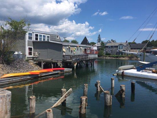 Kennebunks, Maine: Terrasse