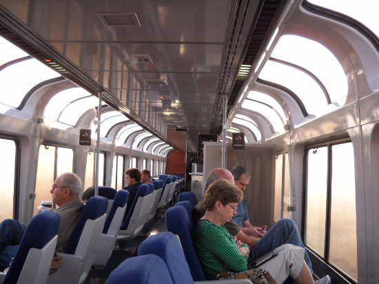 Amtrak Superliner OBS Car Interior Picture Of Amtrak United States TripA
