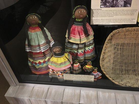 Naples Depot Museum: Seminole dolls