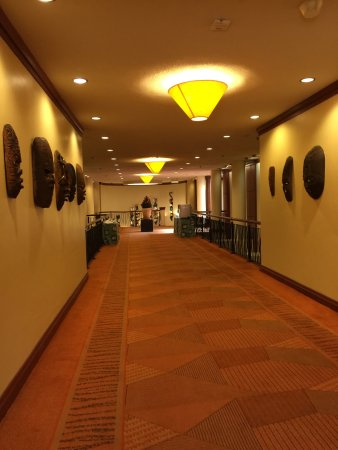 Elephant Hills Resort: Conference room hallway