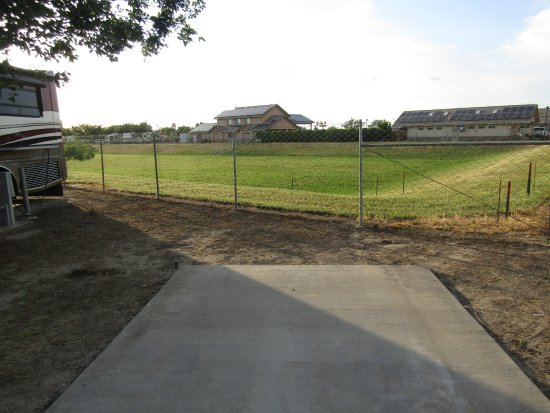 Flag City RV Resort: Drainage