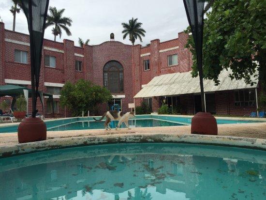Ciudad Mante, México: Muy agradable hotel antiguo muy bonito, la alberca se mantiene con una temperatura muy agradable