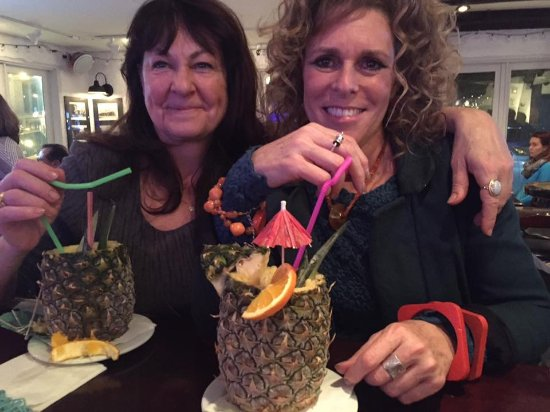 Manchester-by-the-Sea, MA: Two of our favorite customers on Tiki Night.