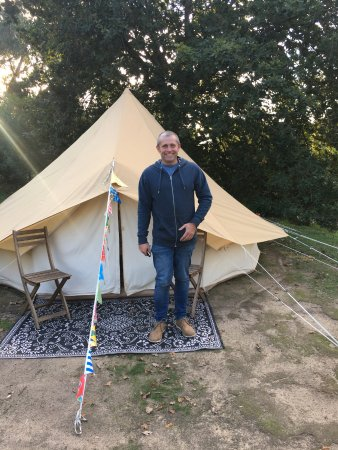 Mornington Peninsula, Australien: Our Happy Glamper Bell Tent