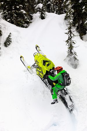 Golden, Canada: Guide Aaron Bernasconi getting technical on a private tour.  PC Dave Best