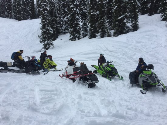 Golden, Canada: Snowmobile Rentals and Tours on curent machines with low milage in great condition!