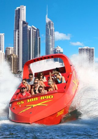 Jetboat Extreme: The only Jet Boat company to depart from Surfers Paradise