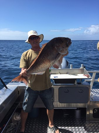 Mangawhai, New Zealand: 21lb snapper