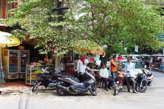 The corner shop in opposite of Anise hotel