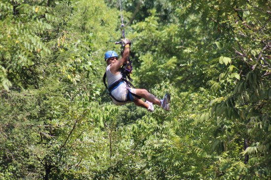 Foxfire Mountain Adventures: happy landings