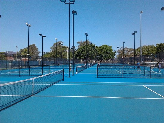 Grafton, Australien: Our modern world class tennis courts
