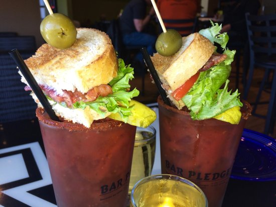 Crookston, MN: BLT Bloody Mary on Sunday! Yes! (May 7th 2017)
