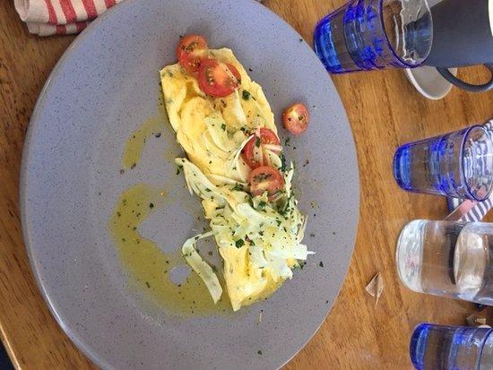 Trigg, Australia: Crab Omelette