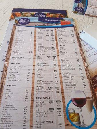 California Dreaming Durban Restaurant Menu