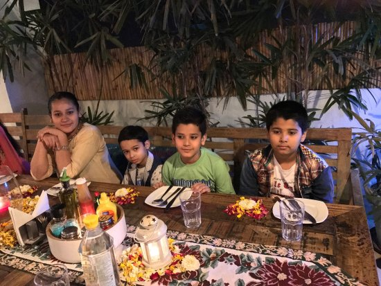 My marriage anniversary party with my family so beautiful and