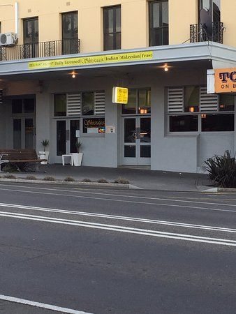 Ararat, Australia: front of the Restaurant