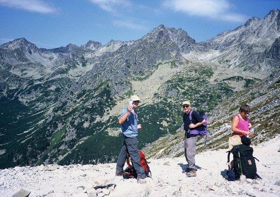 Vysoke Tatry, Eslovaquia: Rysy peak view