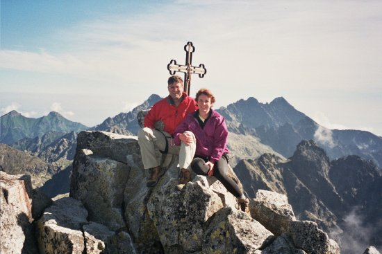Vysoke Tatry, Eslovaquia: happy freinds after Gerlach climb