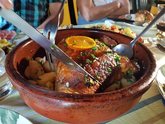 Prazeres, Πορτογαλία: Restaurante O Manjerico