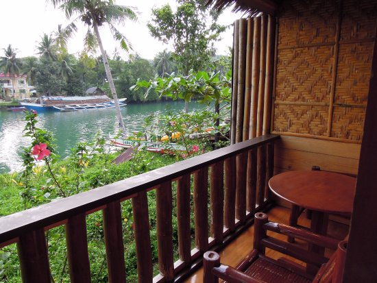 Loboc River Resort : room with riverview