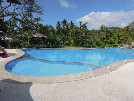 Loboc River Resort: swimming poor
