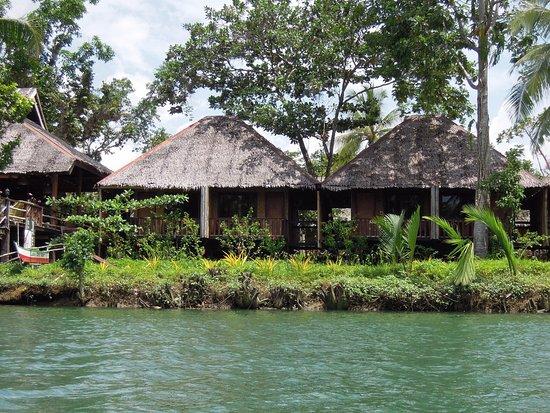 Loboc River Resort: river view villa